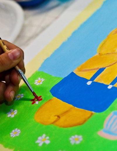 Foto del corso pittura per bambini